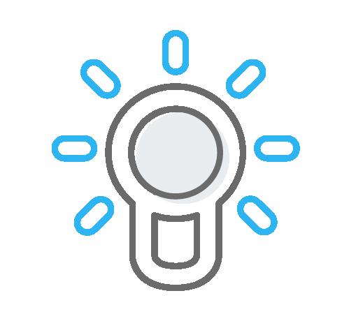 Magaya Values Lightbulb Innovation Icon