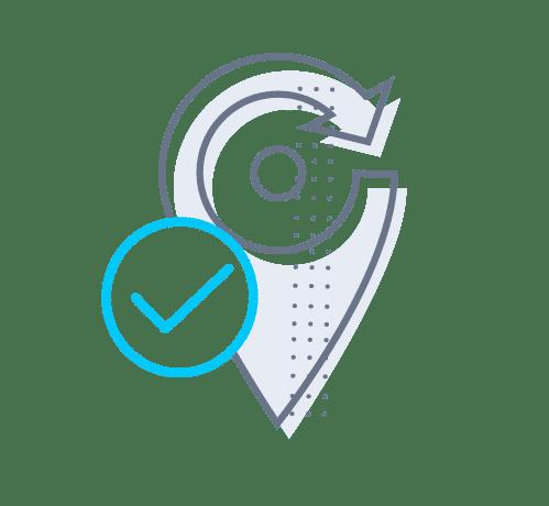 LiveTrack mantiene a los clientes informados en una aplicación móvil