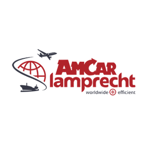 Logotipo de AMCAR Iamprecht, cliente de Magaya