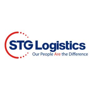Logotipo de STG Logistics, cliente de Magaya