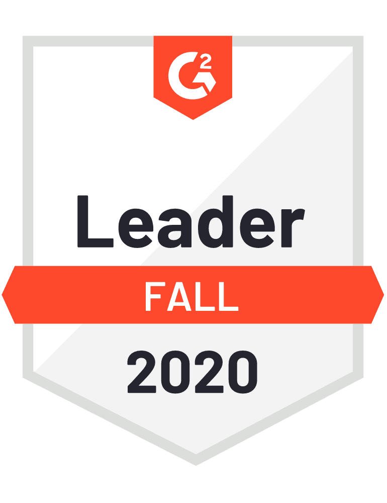 Magaya G2 Leader Badge for Logistics and WMS Warehouse Management Software Fall 2020