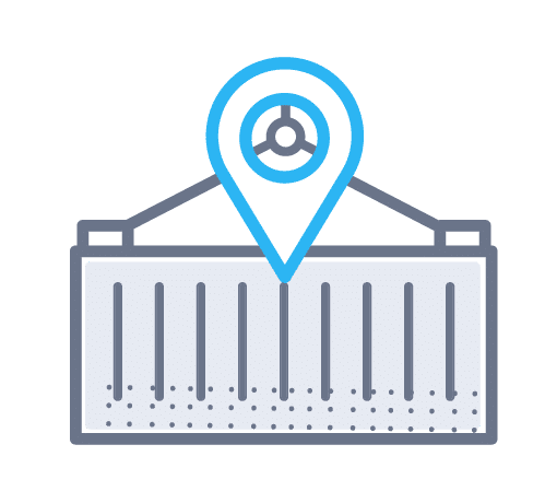 Container Tracking Icon