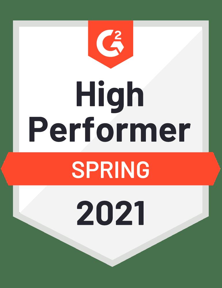 G2 High Performer de Magaya como empresa con desempeño excelente en software WMS de la cadena de suministro,