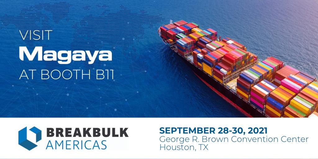 Magaya Featuring New Digital Freight Platform  at Breakbulk Americas