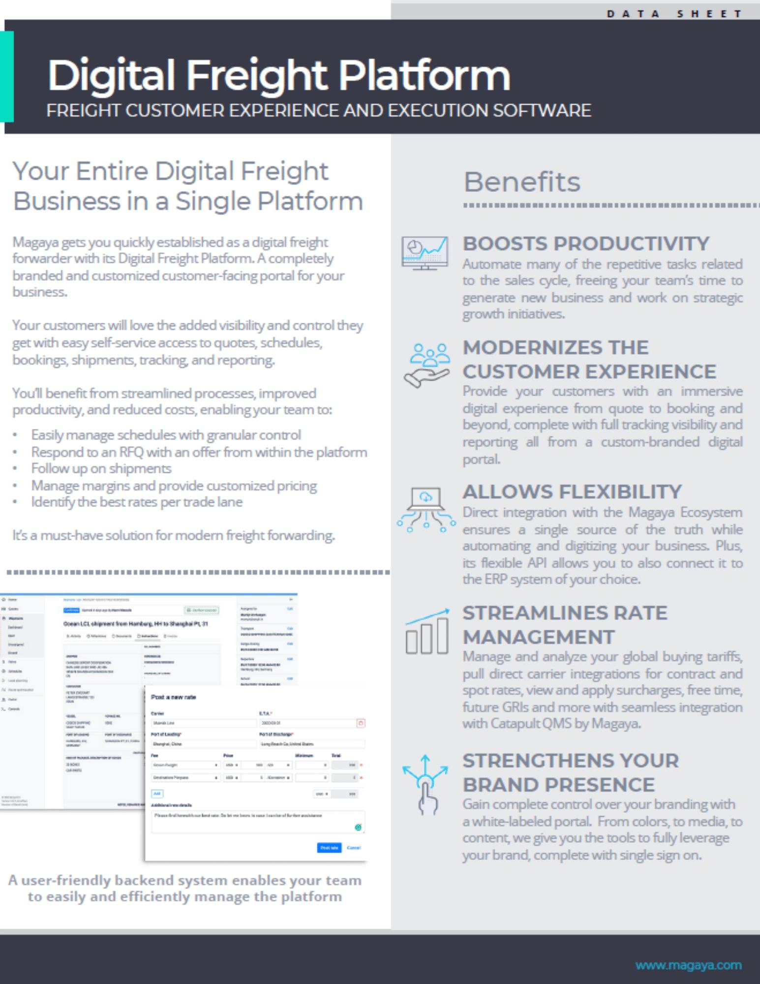 Digital Freight Platform