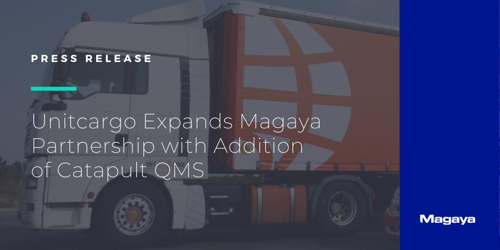 Unitcargo Expands Magaya Partnership with Addition of Catapult QMS